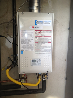 Noritz Tankless Water Heater Installation and Repair Service