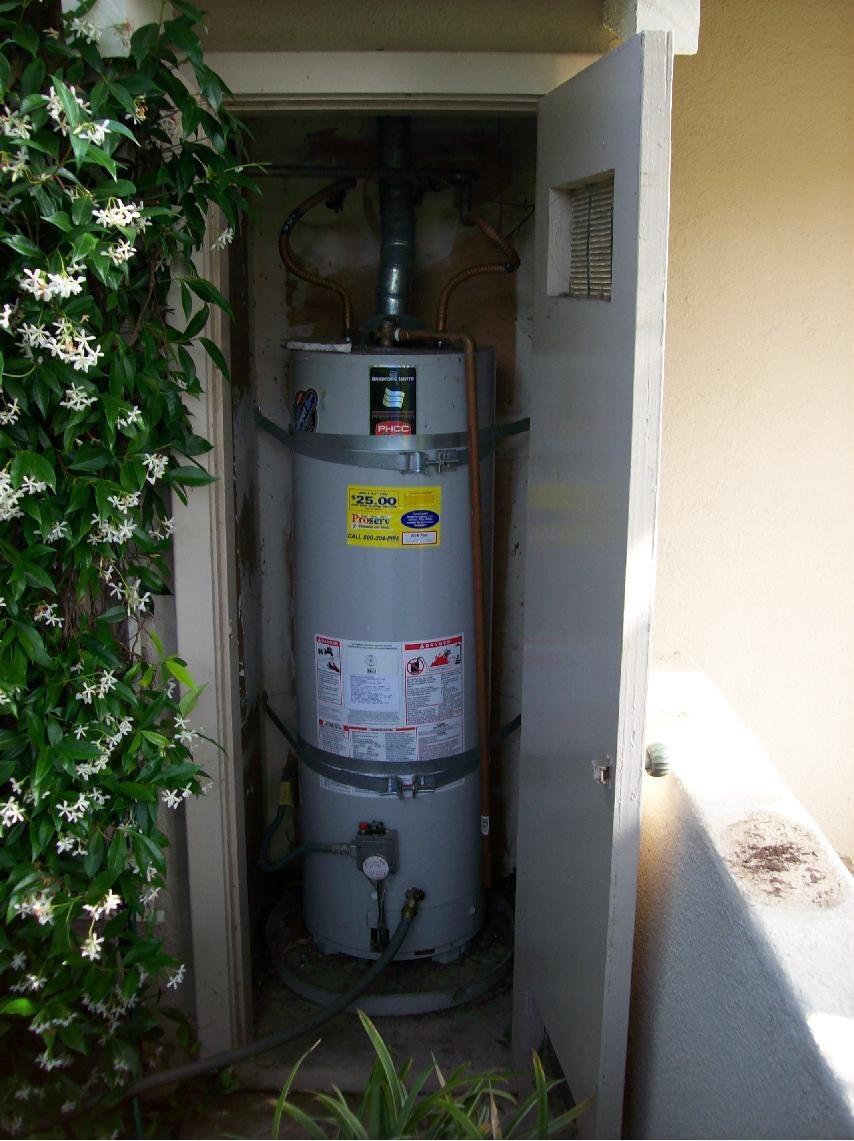 tankless water heater orange county