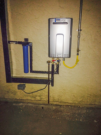 rinnai tankless water heater installation and repair service